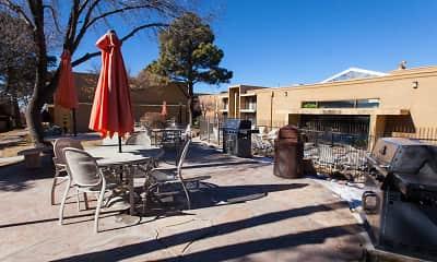 Courtyard, Avaria at Santa Fe, 2
