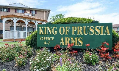 Community Signage, King Of Prussia Arms, 0