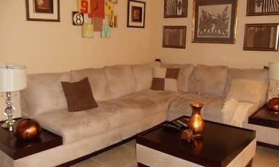 Living Room, Oakdale Circle, 0