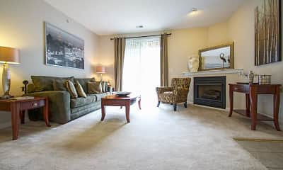 Living Room, Ventana Hills Apartments, 1