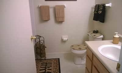 Bathroom, Teal Run Apartments, 2