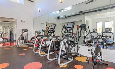 Fitness Weight Room, Sutton Place Apartments, 2