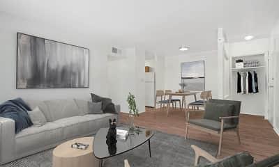 Living Room, Pedestal Gardens, 0