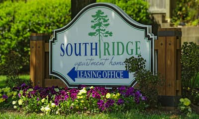 Community Signage, South Ridge Apartments, 2