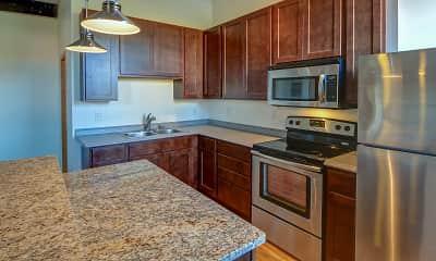 Kitchen, Lee Lofts, 1