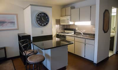 Kitchen, Portage Trail East, 1