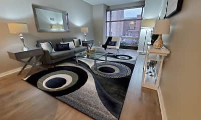 Living Room, Spectra Park Apartments, 0