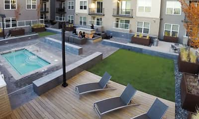 Pool, Cityscape Apartments, 0