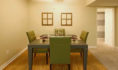 Dining Room, Dakota Creek Apartments, 1