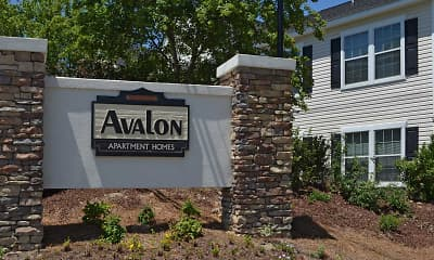 Community Signage, Avalon, 1