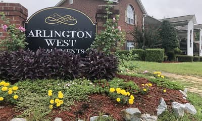 Community Signage, Arlington West, 1
