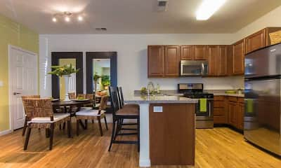 Kitchen, Aldara Apartments, 1