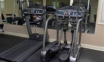 Fitness Weight Room, Congaree Villas, 2