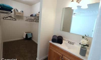 Bathroom, Camelot Apartments, 1