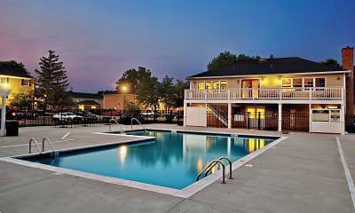 Pool, Willow Bend Apartments, 0