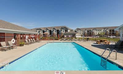 Pool, The Woodland Reserve Apartments, 1