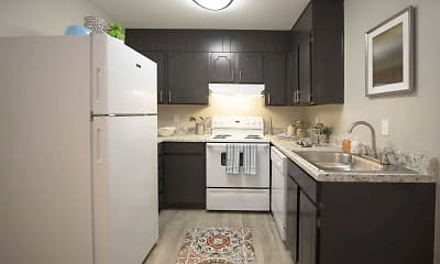 Kitchen, The Park at Fountain City, 2