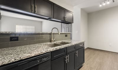 Kitchen, Retama Ranch, 2