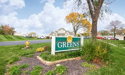 Community Signage, The Greens At Alvamar Apartments, 2