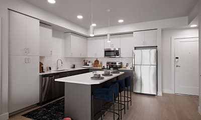 Kitchen, The Flats at Ten Mile, 2