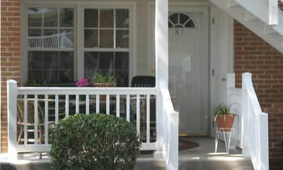 Patio / Deck, Shamrock Apartments, 1