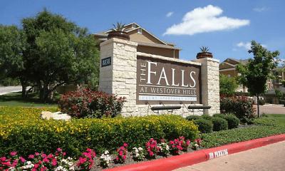 Community Signage, Falls at Westover Hills, 1