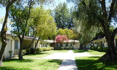 Courtyard, Park Village Apartments, 0