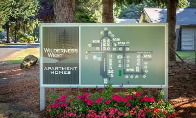 Community Signage, Wilderness West Apartments, 1