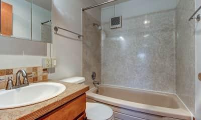Bathroom, Tracy Ann Apartments, 2