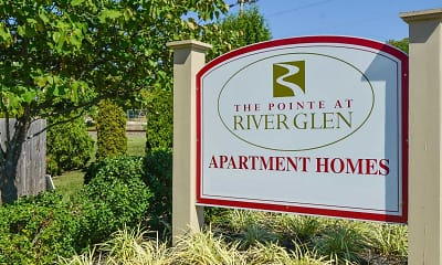 Community Signage, The Pointe At River Glen, 2