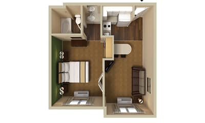 Furnished Studio - Portland - Hillsboro, 2