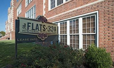 Community Signage, FLATS 324, 1