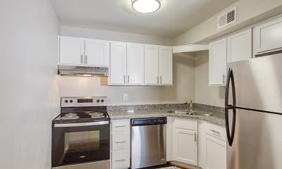 Kitchen, Aria Apartment Homes, 1