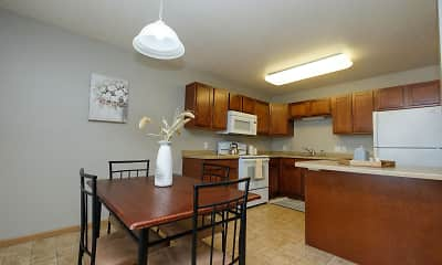 Kitchen, Urban Plains Apartments, 1