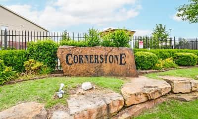 Community Signage, Cornerstone I/II, 2