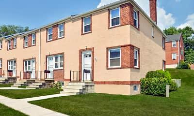 Building, Westland Gardens Apartments & Townhouses, 1