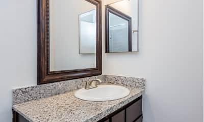 Bathroom, The Atrium at 5606, 1
