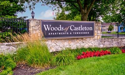 Community Signage, Woods of Castleton, 2