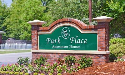 Community Signage, Park Place, 2