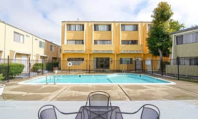 Pool, Regency Townhouses, 1