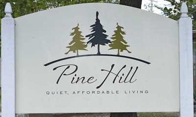 Community Signage, Pine Hill Places Apartments, 2