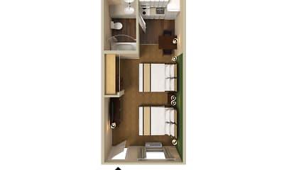 Furnished Studio - Dallas - Las Colinas - Carnaby St., 2
