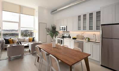 Kitchen, The Poplar, 1