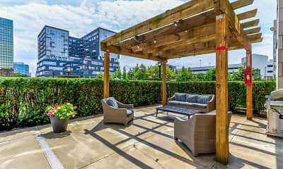 Patio / Deck, Highpoint on Columbus Commons, 2