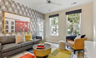 Living Room, Belmont Station, 0