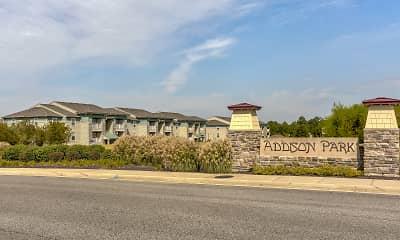 Community Signage, Addison Park, 2