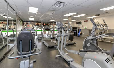 Fitness Weight Room, Drexelbrook Residential Community, 2
