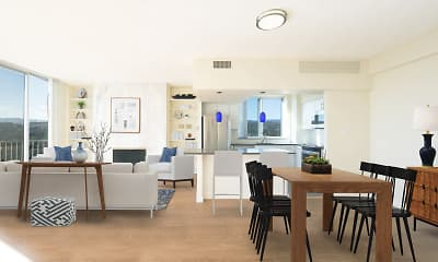 Dining Room, 55 West Fifth Apartments, 0
