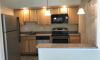 Kitchen, Skyview Apartments, 0