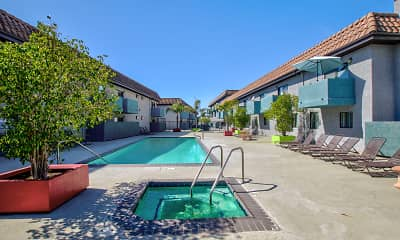 Pool, Fountain View Apartments, 0
